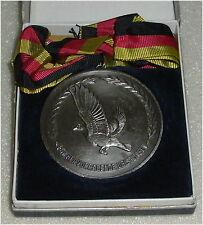 """DDR Medaille Taubenzucht Silbermedaille """"Für hervorragende Leistungen"""" (da3163)"""