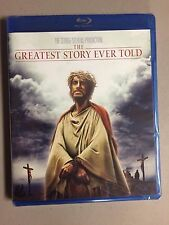 The Greatest Story Ever Told Blu-ray New Free Ship