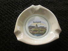 ASH TRAYS BUDAPEST UNTER WEISS BACH COLLECTIBLE 4 x 4 INCHES