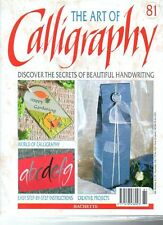 The Art Of Calligraphy Magazine - Part 81