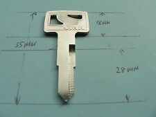 KEY FOR SOME HONDA FOR MOTORCYCLES  silver RIGHT