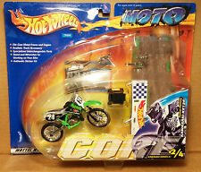 Hot Wheels Moto Core Nathan Ramsey Team Splitfire Pro Circuit Kawasaki KX125