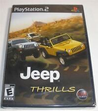 Ps2 Jeep Thrills video game Factory Sealed brand new