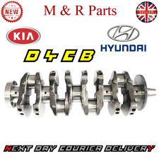 CRANKSHAFT + MAIN & BIG END BEARINGS STD FOR KIA SORENTO D4CB 2.5 CRDI 2002-2015