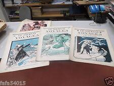 LOT DE 4 REVUES LE JOURNAL DES VOYAGES DE RECREATION SCIENTIFIQUE 1924 1925 *