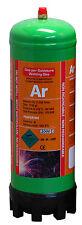 Argon gas bottle 220ltr for mig/tig welding disposable cylinder