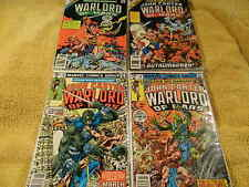 1977 MARVEL Edgar Rice Buroughs JOHN CARTER WARLORD OF MARS #13-14, Annuals #1-2