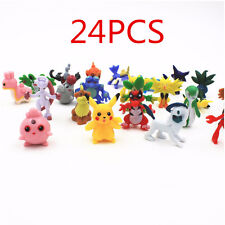24*PC Wholesale Lots Cute Pokemon Mini Random Pearl Figures Kids Toys New