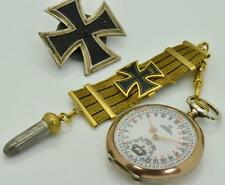 Important Historical WWI Omega German General's award 24hours  Dial pocket watch