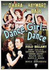 Dance, Girl, Dance (DVD, 2007) New Sealed