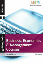 Business, Economics & Management Courses (Getting into series) (Getting into Cou
