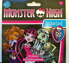 120 Monster High Stickers Party Favors Teacher Supply
