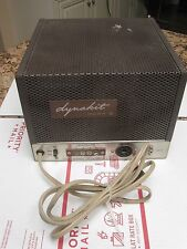 1957 DYNACO MK III TUBE MONO BLOCK POWER AMPLIFIER DYNAKIT MARK 3 SURVIVOR AS IS