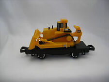Toy State  Caterpillar Construction Express Toy Train Flat Car W/ Equipment