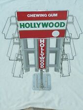 VINTAGE DISTRIBUTEUR DE COMPTOIR MAGASIN DE CHEWING GUM HOLLYWOOD