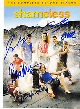 SHAMELESS CAST SIGNED SEASON TWO  PICTURE
