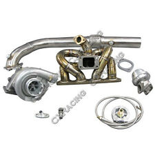 T04E Turbo Kit RAM Thick Manifold For Civic Integra EK B18 LS GSR B-Series