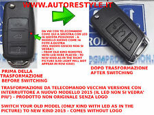 TRANSFORMATION VON ALT FERNBEDIENUNG VW GOLF 3 BUTTONS IN MODELL GOLF 7 2015