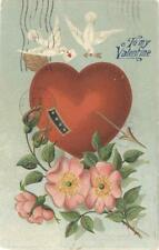 To My Valentine used postcard Feb 14, 1909