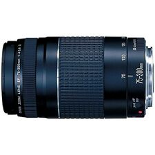 New Canon EF 75-300mm f/4-5.6 III Telephoto Zoom Lens