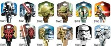 STAR WARS Keyblank Set Suits Lockwood x 6 Designs -Key Blank- Free Postage!