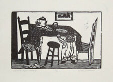 WILL BARNET Complete IMAGES OF CHILDREN PORTFOLIO 8 Woodcuts & Etchings 1940