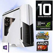GAMER PC AMD FX-8300 8x@4,20GHz+16GB+Nvidia GTX1050Ti 4GB HDMI-1TB-Win10-V21