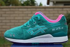 ASICS GEL LYTE III 3 SZ 10.5 TROPICAL GREEN ALL WEATHER PACK H511L 7878