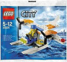 30225 COAST GUARD SEA PLANE promo CITY TOWN lego NEW poly bag legos set