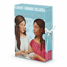 American Girl BOOK MARIE GRACE & CECILE BOXED SET W/GAME PAPERBACK NEW