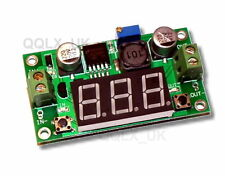 DC to DC Buck Step Down Converter Module LM2596 Voltage Regulator Voltmeter Red