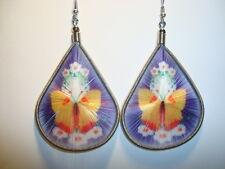 Peruvian Alpaca Silver & Handmade Dreamcatcher Thread  Earrings~CT71~uk seller