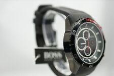 Hugo Boss 1512661 Herrenuhr schwarz Edelstahl  Cronograph Datum LUXUS Uhr  NEU