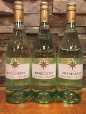 3-Bottles Roscato Sweet White Wine