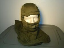 US MILITARY COMBAT VEHICLE CREWMENS COVERALLS HOOD BALACLAVA FIRE RESISTANT NEW