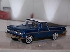 1959 59 CHEVY EL CAMINO 1/64 SCALE COLLECTIBLE DIECAST MODEL DIORAMA OR DISPLAY