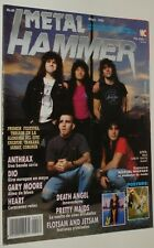 METAL HAMMER # 30 / ANTHRAX WATCHTOWER DEATH ANGEL DIO HEART SANCTUARY NIAGARA