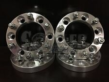 "4 X Wheel Spacers 1"" Thick Hub Adapter 6x5.5 6 Lug Bolt Pickup GMC Canyon"