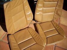 Mercedes Benz W124 E class 89-93 Front leather factory seats cover Palomino