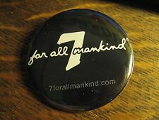 Seven 7 For All Mankind Urban Fashion Jeans Logo Advertisement Lapel Button Pin