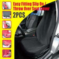 Pair Slip On Throw Over Car Seat Covers For All Bucket Seat Free Shipping To AU