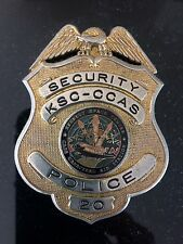 Obsolete Kennedy Space Center/Cape Canaveral AFS Security Police Badge