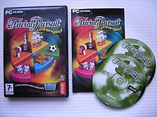 Trivial Pursuit Unhinged - ATARI - PC CD ROM - Windows 98/98SE/Me/2000/XP