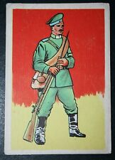 Russian Infantry  World War 1       Historic Uniform Card