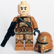 STAR WARS lego GEONOSIS PARATROOPER CLONE TROOPER airborne 75089 army battle NEW