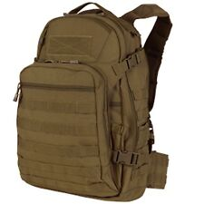 Condor MOLLE PALS Tactical Hiking Patrol Laptop Venture Pack #160 Coyote Brown