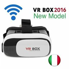 OCCHIALI VR BOX 2.0 OCCHIALI REALTA' VIRTUALE. 3D  VIRTUAL REALITY.