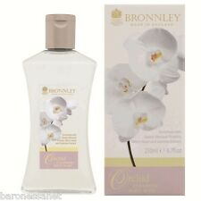BRONNLEY ORCHID CLEANSING SHOWER GEL 250ML Floral fragrance Jasmine extract