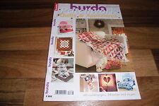 BURDA PATCHWORK --- QUILTS & APPLIZIEREN --- mit Anleitung+Schemas+Bogen TOP !!!