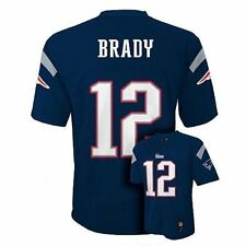 Tom Brady New England Patriots Navy Blue Authentic Home Jersey (Toddler 4T)